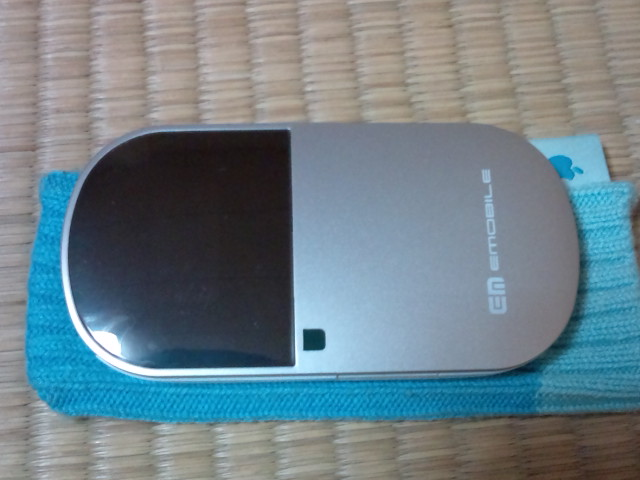 Pocket WiFi(D25HW)ゲット